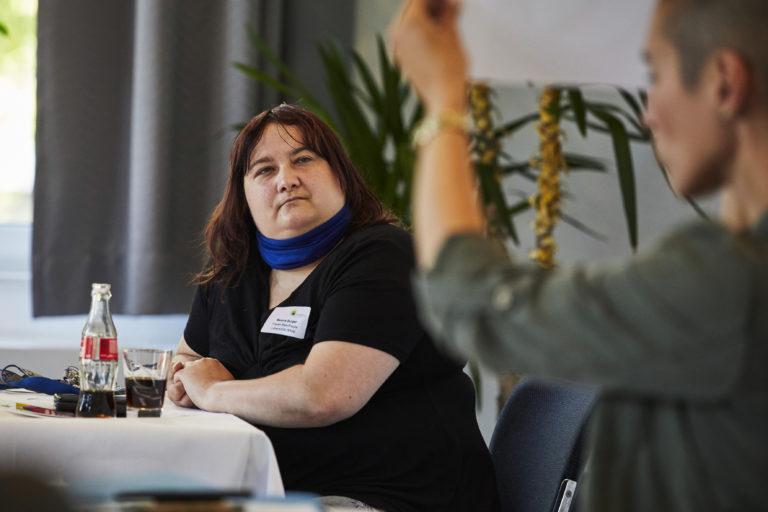 Bild von Treffen mit Vertretern der Stadt Hamm und Frauen mit Behinderung