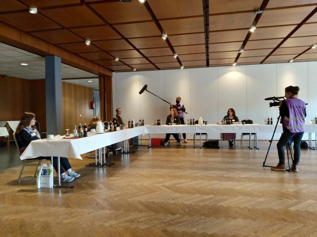 Bild vom Netzwerk-Treffen in Wesel